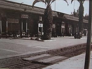 Empresa de los Ferrocarriles del Estado - Railway Station, Quillota, Chile.