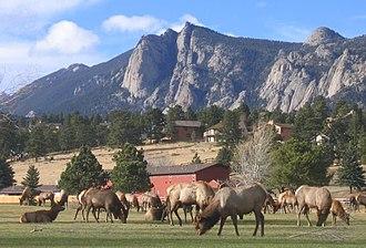 Lumpy Ridge - Lumpy Ridge overlooking Estes Park