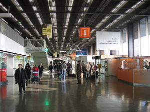 Orly Airport - Interior of Terminal West