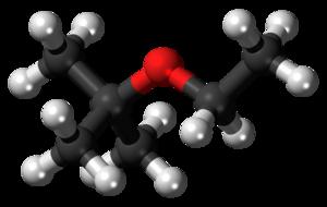 Ethyl tert-butyl ether - Image: Ethyl tert butyl ether 3D balls