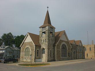 Eureka, Kansas - Image: Eureka KS congregational church