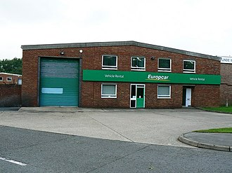 Europcar - Europcar garage in Hampshire