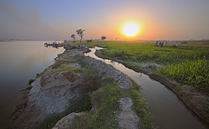 Depalpur Tehsil - Most of the tehsil is characterized by flat irrigated lands