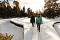 Exploring the Mammoth Hot Springs boardwalks during winter (49266668537).jpg