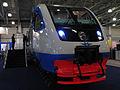 Expocitytrans 2010, Moscow Metro and Metrovagonmash pavilion, RA-2 railbus (5020446993).jpg