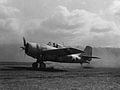 F4F-4 Wildcat taked off from Henderson Field 1943.jpg