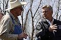 FEMA - 34604 - Arkansas Governor Mike Beebe in the field.jpg