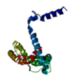 FGFR1OP2 structure with alpha helices.png