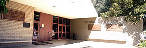 Tustin Unified School District - The Foothill High School front office