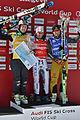 FIS Ski Cross World Cup 2015 Finals - Megève - 20150314 - Brady Leman, jean-Frédéric Chapuis et Paul Eckert.jpg