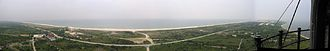 Suffolk County, New York - View of western Fire Island from the top of Fire Island Lighthouse