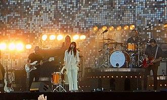 Florence and the Machine - Florence and the Machine performing at Rock Werchter in Werchter, Belgium, 2015