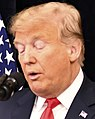 Face detail, President Trump Addresses Tri- Mission Brussels (41533413010) (cropped).jpg
