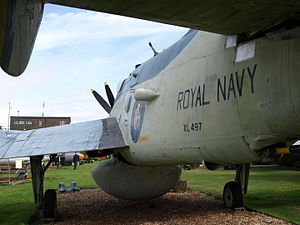 Dumfries and Galloway Aviation Museum - Fairey Gannet XL497