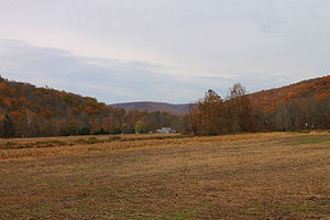 Monroe Township, Wyoming County, Pennsylvania - Fall scenery of Monroe Township, Wyoming County, Pennsylvania from Lutes Corner Road