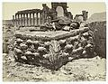 Fallen capital from Temple of Palmyra, Syria..jpg