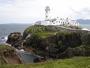 Fanad - Fanad Lighthouse County Donegal Lough Swilly and Mulroy Bay