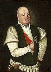 Portret szlachcica w mundurze województwa podolskiego