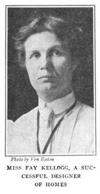 Fay Kellogg - Fay Kellogg, from a 1908 publication.