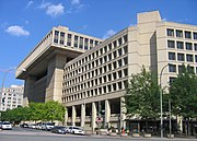 J. Edgar Hoover Building, FBI Headquarters