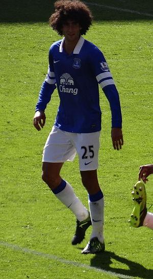 History of Everton F.C. - In 2008, Everton signed Marouane Fellaini for a club record £15 million