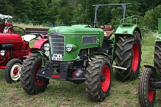 Fendt - Fendt Favorit 3 produced in 1960's