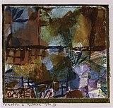Fenster u. Palmen, 1914