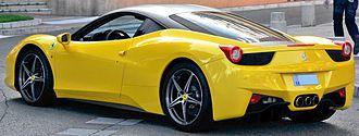 Ferrari 458 - Ferrari 458 Italia (Monaco)
