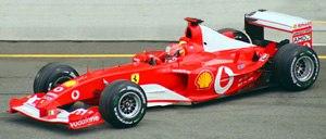 Ferrari F2003-GA Michael Schumacher 2003