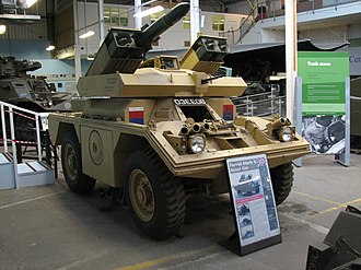 Ferret armoured car - Ferret Mk 5 at The Tank Museum, Bovington