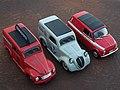 Fiat 500 B Topolino c.1946, 500 C c.1949, Nuova 500 c.1965 Van - Fourgoncino (15958850041).jpg