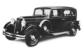 Fiat 524 - Image: Fiat 524 L Series 2 Sedan 1933