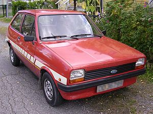 Ford Fiesta (first generation) - Image: Fiesta Festival 01