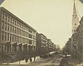 Fifth Avenue and Marble Collegiate Church, New York 1855.jpg