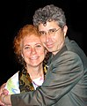 Filmmaker Karen Aqua and composer Ken Field.jpg