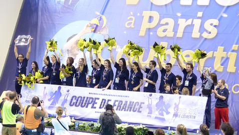 Coupe de france de volley ball f minin 2013 2014 wikip dia - Volley ball coupe de france ...