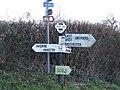 Finger post, Pegg's Lane - geograph.org.uk - 1717948.jpg