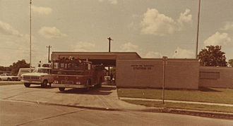 South Park, Houston - Fire Station 35, 1976