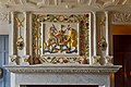 Fireplace in the Royal Palace, Edinburgh Castle (6286596403).jpg