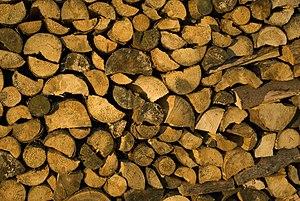 English: firewood Česky: palivové dříví