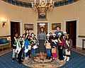First Lady Melania Trump at an East Wing Tour (49379927206).jpg