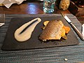 Fish dish from set of dinner on Osteria Ristorante Italiano.jpg