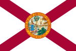 Flag of Florida (September 24, 1900)