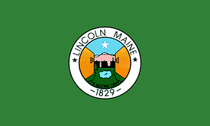 Lincoln, Maine - Image: Flag of Lincoln, Maine