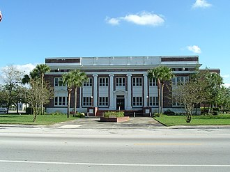 Bunnell, Florida - Old Flagler County Courthouse