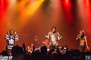 Flatbush Zombies American hip hop group