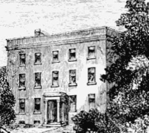 Joseph Hurlock - Fleetwood House, Stoke Newington, in 1750