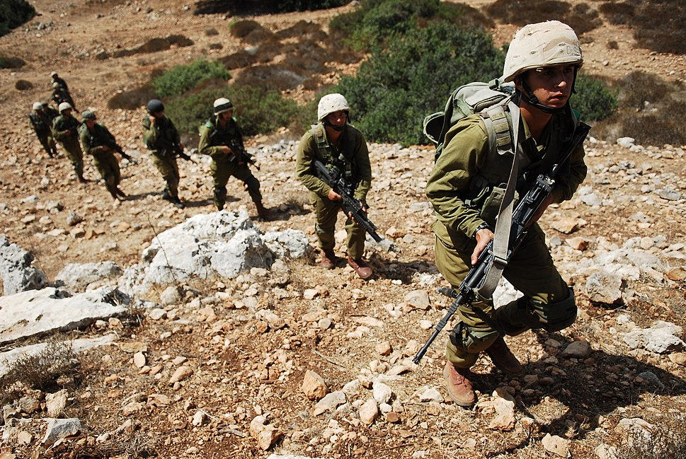 Flickr - Israel Defense Forces - Class Commanders Exercise at Elyakim (1)