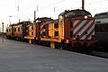 Flickr - nmorao - Locomotivas 1400, Estação do Entroncamento, 2008.12.20.jpg