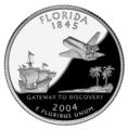 Florida quarter, reverse side, 2004.png